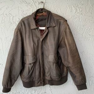 Vintage Roundtree and Yorke Bomber Jacket